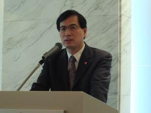 TAITRAマーケティング本部の陳英顯本部長