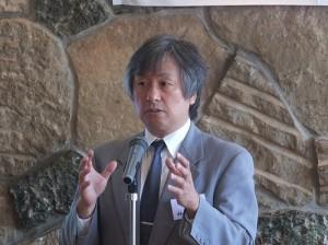 國建會日本聯誼會會長林敬三表示歡迎青年學者加入