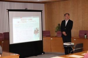駐處處長粘信士以「台日關係與地方交流」為題向神奈川縣議員發表演說