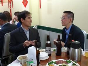 專攻大眾運輸工具的大阪大學博士班留學生賴均韋提出許多建議