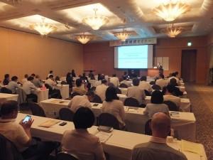 研討會上有許多神奈川縣當地產業代表出席參加