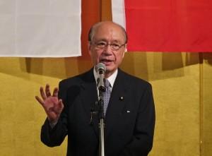 日本國會參議員前田武志應邀出席與會交流