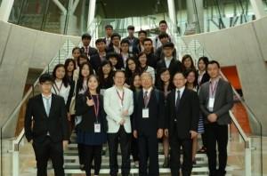 逢甲大學行銷系海外研修團參訪神田外語大學