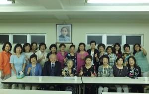 第17屆東京華僑婦女會第一次理監事會議後,全員合影