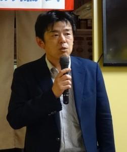山陽電鐵鉄道営業部長 増田隆治