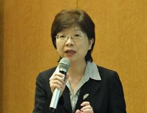 海外信用保證基金董事長宮文萍專程出席日本華聯合總會會員大會,介紹該基金的運作