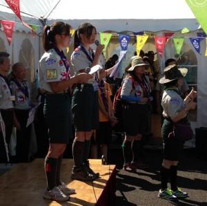 世界スカウトジャンボリーは4年に1回開かれる世界スカウト機構主催のスカウトの大会