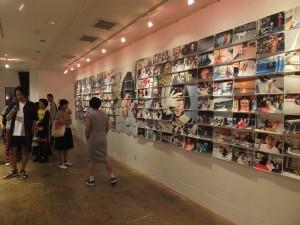 川島さんの「明星」展示ブース
