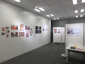 藝家人所属アーティストらの「夏」と「祭」をテーマとした作品も展示