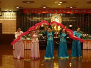 會員帶來優美舞蹈為晚會助興