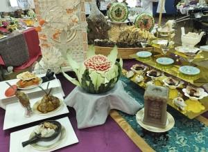 團體賽總冠軍作品:龍膽石斑套餐/台南七哥料理