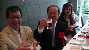 沈斯淳代表與親民黨日本代表  時鎮棣