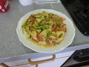 台湾の家庭料理、番茄炒蛋