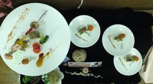 個人賽金獎作品之一:開心果雞捲附碳烤食蔬/龍德家商