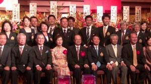 橫濱僑界國慶晚會合照