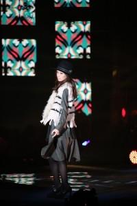 北川景子首次登上GirlsAward舞台走秀