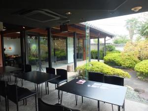 和テイストで至る所にこだわりが感じられる「カフェ空」