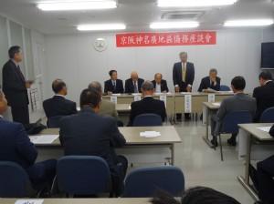 駐大阪辦事處處長 蔡明耀說明僑務座談會目的