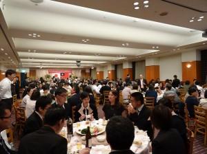 兩百多位僑胞、日本友人到場為中華民國慶生
