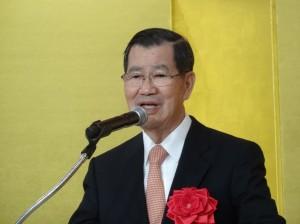 前副總統蕭萬長應邀出席