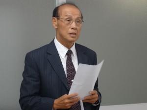 大阪中華學校副理事長 連茂雄