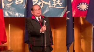 台灣同鄉協同組合理事長  莊海樹希望國民黨展現團結氣魄