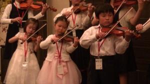 傑人會晚宴上小提琴演奏