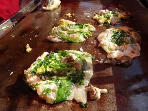台灣小吃168的蚵仔煎大受歡迎