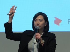パソナ台湾の劉于涵さん