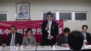 青年部部長馮明輝強調繼續 為僑界努力