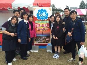 四國地區華僑到場擺攤力挺兩地交流 推廣台灣美食