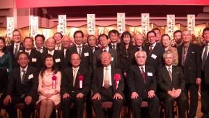 代表處長官與橫濱台灣同鄉會會員合照