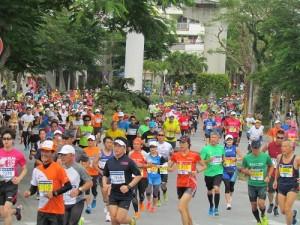 第31屆那霸馬拉松賽於12月6日開跑,超過2萬6000位選手參賽