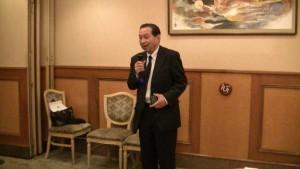 東京台灣の会事務局長 簡憲幸期望拓展世代交流
