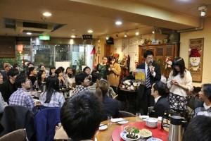 會中聚集東京地區各校台灣留學生會會長出席傳承交接