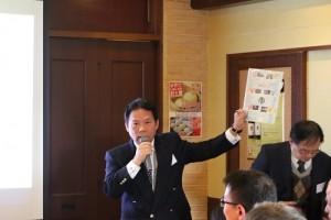 台灣觀光協會東京事務所所長江明清就台日觀光發展發表專題演講