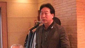 東京台灣商工會會長陳慶仰希望更多華僑加入福祿壽會