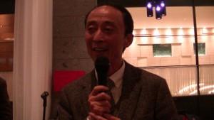 東京中華學校學校理事長 張建民期許老師來年更努力