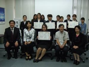 中国語スピーチコンテストに学生12人が参加