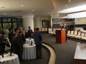 台灣區電氣電子工業同業公會副理事長歐正明應邀率團到沖繩考察投資環境
