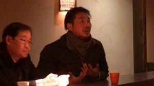 橫濱台商會青商部副部長河德明建議多參加海外僑界活動