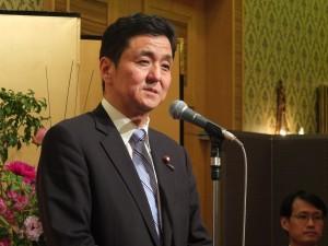岸信夫議員は台北市の未来の発展に期待を述べた