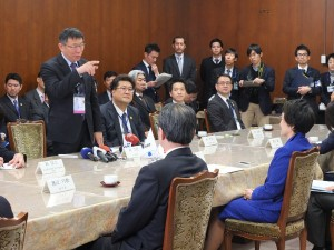 柯市長は横浜市との密接な関係を強調