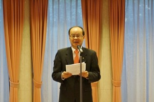 駐日代表沈斯淳認為新的一年度有挑戰也有機會