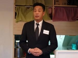京都華僑總會副會長 安田隆昌