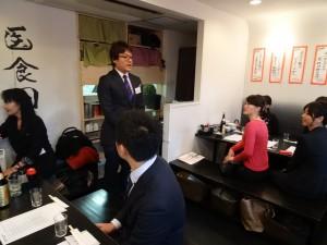 日本中華聯合總會青年部部長 馮明輝