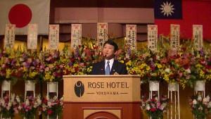 羅鴻健會長希望大家支持中華學院改建