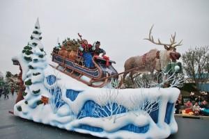 《冰雪奇緣》為主題的遊行至3月18日止