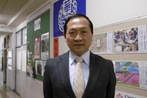 校長馮彥國重視中國台灣傳統文化教育