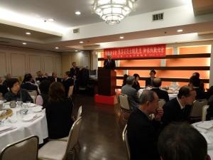 僑務委員會委員長陳士魁代表政府感謝僑界對南台灣震災的關懷